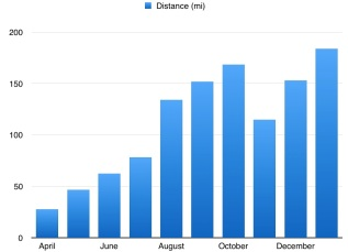 january-miles-graph