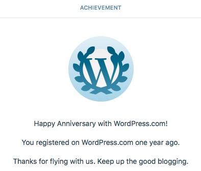 wordpress-one-year
